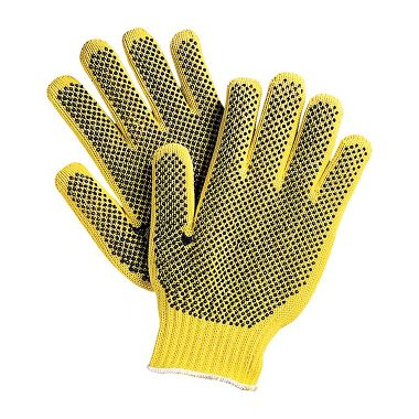 Knit Glove with Plastic Dots, With DuPont™ Kevlar® Fiber, Men's