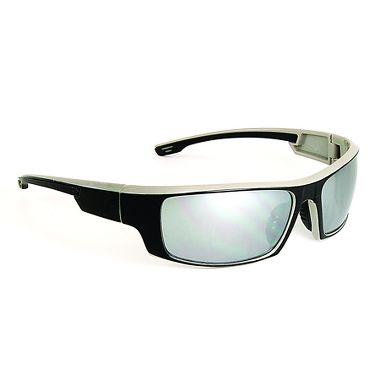 Wildcard Safety Glasses with Gray Mirror Lens