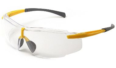 Galeton Gearhead Safety Glasses with Clear Lens