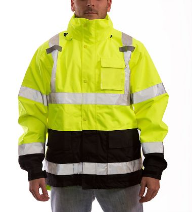 Tingley Icon™ Class 3 Jacket w/ D-Ring Access, Lime