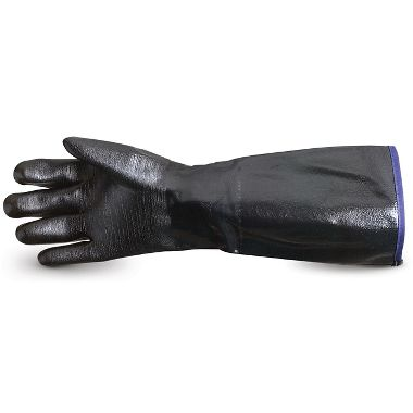 "Chemstop™ Heavy Duty Neoprene 18"" Fryer's Gloves"