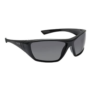 Bolle Hustler Safety Glasses w/ Smoke Lens