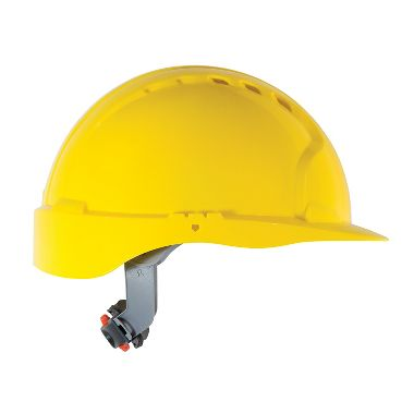 JSP® Vented Hard Hat w/ Wheel Ratchet Adjustment