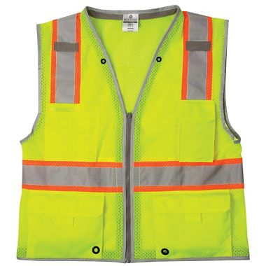Class 2 Kishigo Brilliant Series Heavy Duty Vest