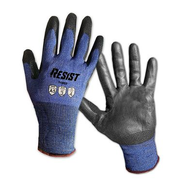 Galeton RESIST™ Cut Resistant 18 Gauge Knit  Polyurethane Palm Coated Gloves
