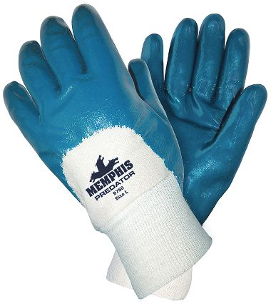 Predator® Gloves with Coated Palm, Knit Wrist