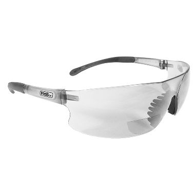 Radians Rad-Sequel RSX™ Bifocal Safety Glasses with Clear Lens