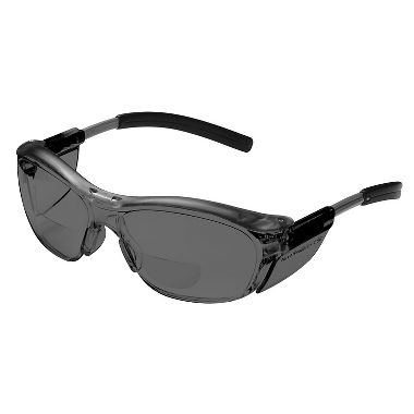 Nuvo Bifocal Safety Glasses Gray Lens