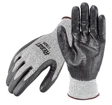 Galeton RESIST™ Cut Resistant Knit Gloves with Nitrile Coated Palms