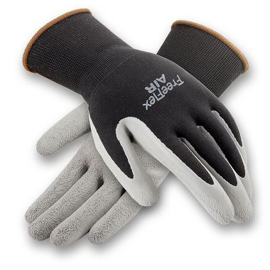 FreeFlex Air Gloves, Seamless Knit, Foam Latex Coated, 1 Pair