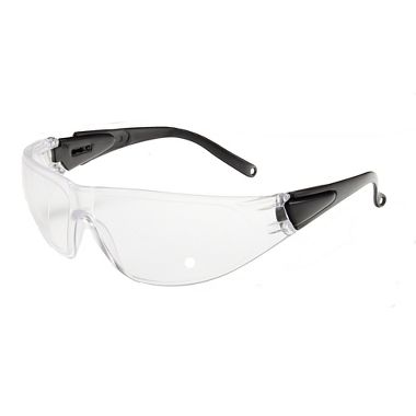 Shield Safety Glasses, Fog Free Clear Lens