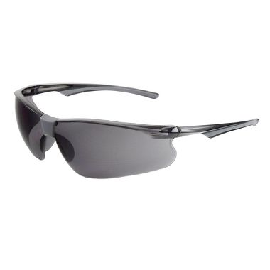 Rivet Safety Glasses, Fog Free Gray Lens
