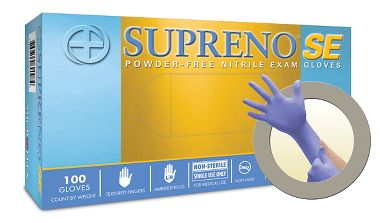 Microflex® Supreno® SE Powder Free Medical Grade Nitrile Exam Gloves