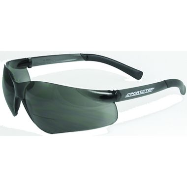 Sportster+ Bifocal Safety Glasses, Gray Lens