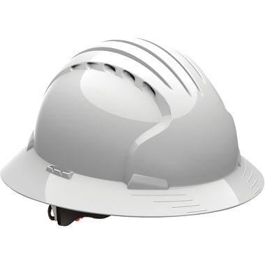 JSP Evolution™ Deluxe 6161 Full Brim Vented Hard Hat