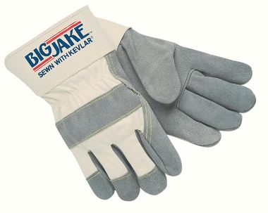 Big Jake® Leather Palm Work Gloves