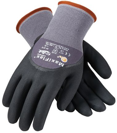 ATG® MaxiFlex® Ultimate™, Micro-Foam Nitrile 3/4 Dipped Gloves, 12 Pr/Pkg