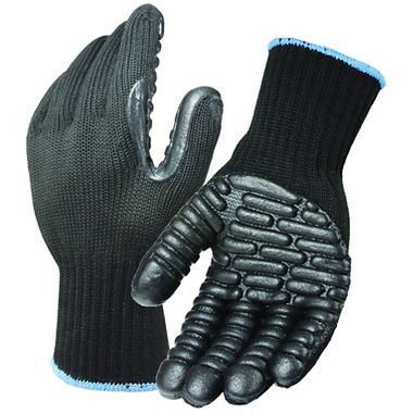 Hulk Anti-Vibration Gloves, Black