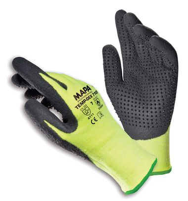 MAPA TEMP-DEX 710 Gloves, 3 Pairs/Package