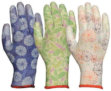 Bellingham® COOL™ Patterned Gardening Gloves