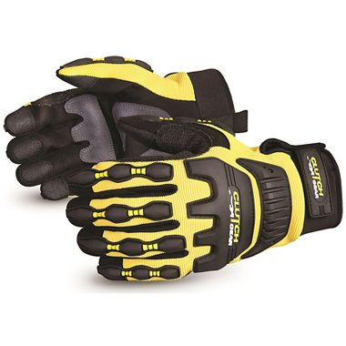 Clutch Gear® Fleece Lined, Waterproof, Anti-Impact Gloves