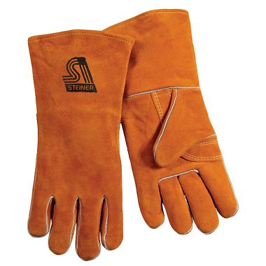Steiner Y-Series Cowhide Welding Gloves, 12 Pairs/Package