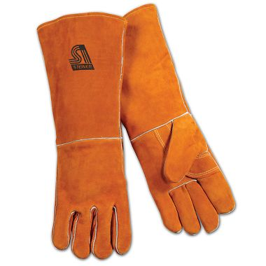 "Steiner Y-Series 18"" Cowhide Welding Gloves, 3 Pairs/Package"