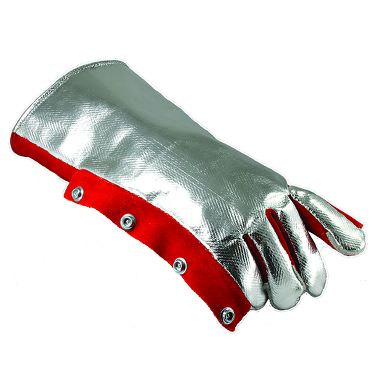 Aluminized Rayon Back Wool Lined Welding Glove