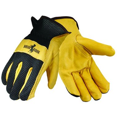 Rough Rider® Mesh Back Driver Gloves, 3 Pairs/Package