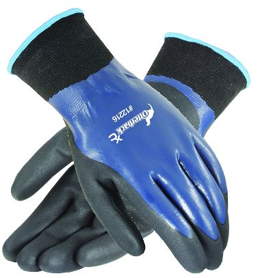 Otterback™ XC Nitrile Double Coated Gloves, 3 Pairs/Package