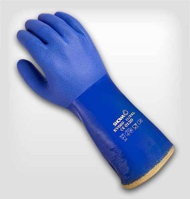 Atlas® KV660 PVC Coated Gloves, Lining Made With DuPont™ Kevlar® Fiber