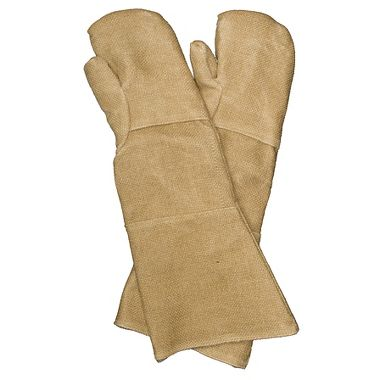 "23"" ZetexPlus Heat Protection Mitts with Double Palm"
