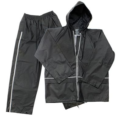 Repel Rainwear™ Reflective 0.20mm Nylon & PVC Rain Suit