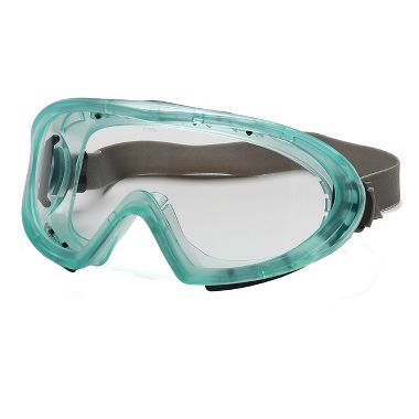 Pyramex Capstone Latex-Free Goggles, Clear Lens