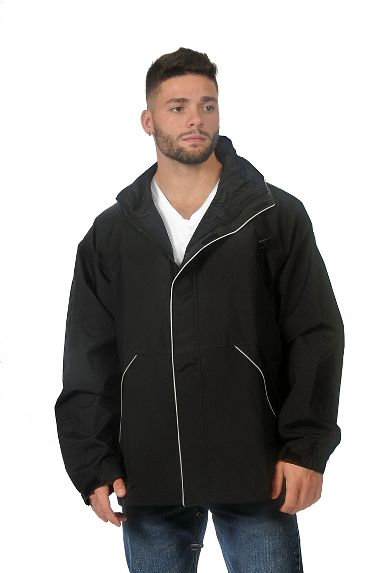 Repel Rainwear™ Breathable Reflective Rain Jacket