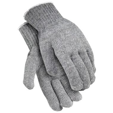 Heavyweight String Knit Gloves, XL