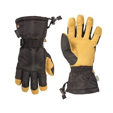 Custom LeatherCraft® Goatskin Waterproof Snow Gloves