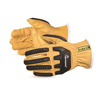 Oilbloc™ Goatskin Anti-Impact Driver Gloves, Lining made with Dupont™ Kevlar® Fiber