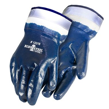 Blue Steel Shine™ Nitrile Coated Reflective Gloves