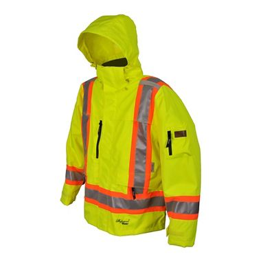 Viking® Professional THOR 300D Trilobal Safety Jacket with Hood
