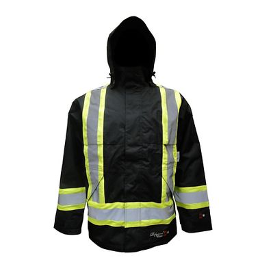 Viking® Professional Insulated Journeyman 300D Trilobal Rip-stop FR Jacket