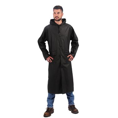 Repel Rainwear™ 0.20mm Nylon / PVC 48 Inch Rain Coat
