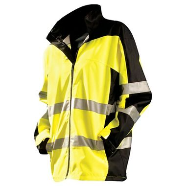 Occunomix® Speed Collection Premium Breathable Class 3 Rain Jacket