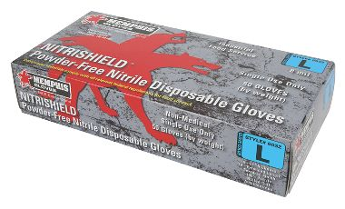 "NitriShield® Nitrile, Food Service Grade, 8 Mil, Powder-Free, 12"" Length"