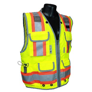 Radians SV55 Class 2 Heavy Duty 2-Tone Engineer Safety Vest