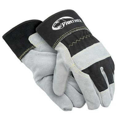 Panther™ Leather Palm Gloves Sewn with Cut & Heat Resistant Thread