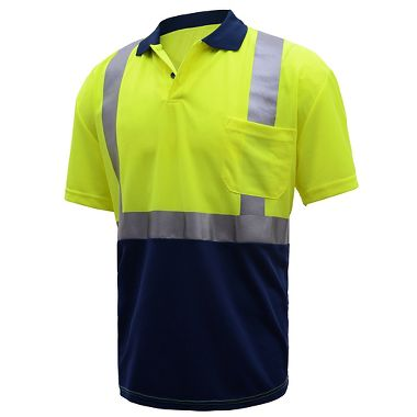 GSS Safety Short Sleeve Class 2 Polo Shirt