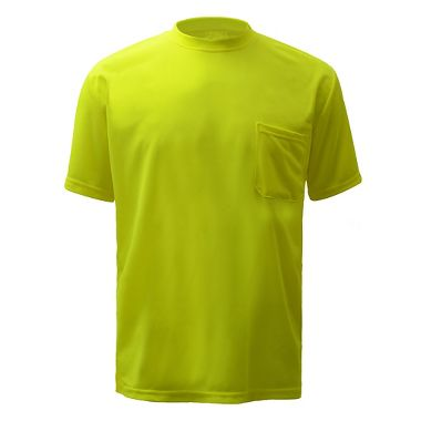 GSS Safety Moisture Wicking Polyester Birdseye Short Sleeve T-Shirt