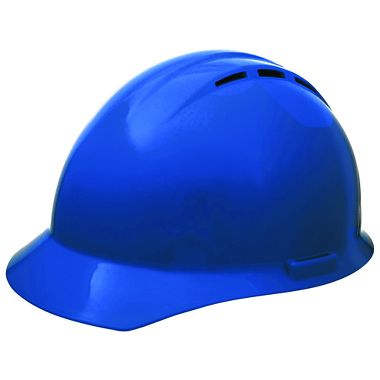 ERB Americana® Vented Hard Hat, 4 Point Suspension, Mega Ratchet®