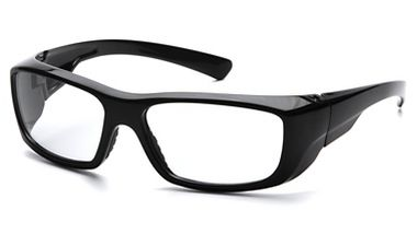 Pyramex Emerge™, Complete Reader Lens Safety Glasses, Black Frame, Clear Lens